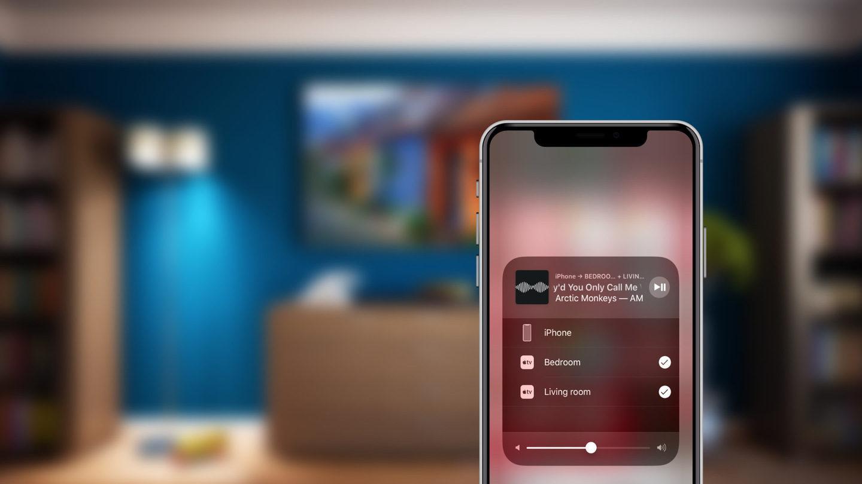 трансляция экрана iPhone через Airplay