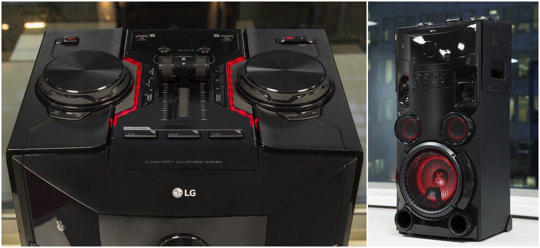 Пати-акустика LG X-Boom  громкий звук и блистательный свет для ... a9b19d0f5a9