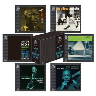Эзотерика в голубом: Blue Note 6 Great Jazz Collection SACD