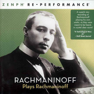 Rachmaninoff plays Rachmaninoff - CD, Sony, 2009