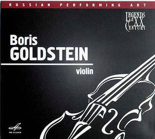 Boris Golgsteim, Violin «CD, 2010, Мелодия, 2010» LP/CD, Blue Note/ EMI, 2010, 509999 09868 26
