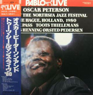 Oscar Peterson, Joe Pass, Toots Thielemans, Neils Henning Ostred Pedersen - Live at the North Sea jazz festival