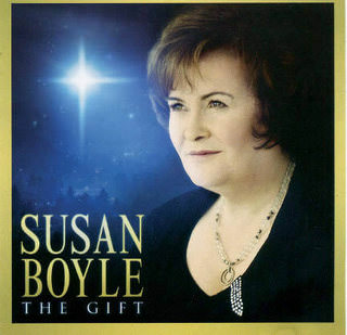 Susan Boyle «The Gift» CD, SYCO Music/Sony Music/ CP Digital, 2010, 8697807412