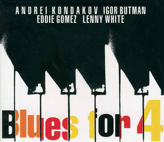 Kondakov/Butman/ Gomez/White — «Blues For 4» CD, Butman Music, 2010, IB 74007