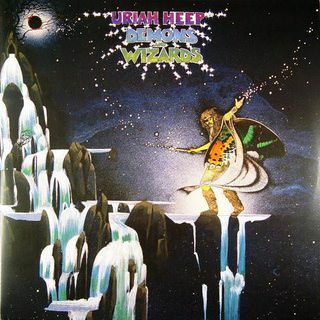 Uriah Heep — Back on Black Demons&Wizards (2 LP 180gm, color vinyl)