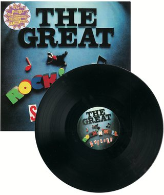 Sex Pistols - The Great Rock 'n' Roll Swindle / Virgin records VDR 2510
