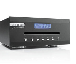 Тест СD-транспорта Musical Fidelity M1CDT