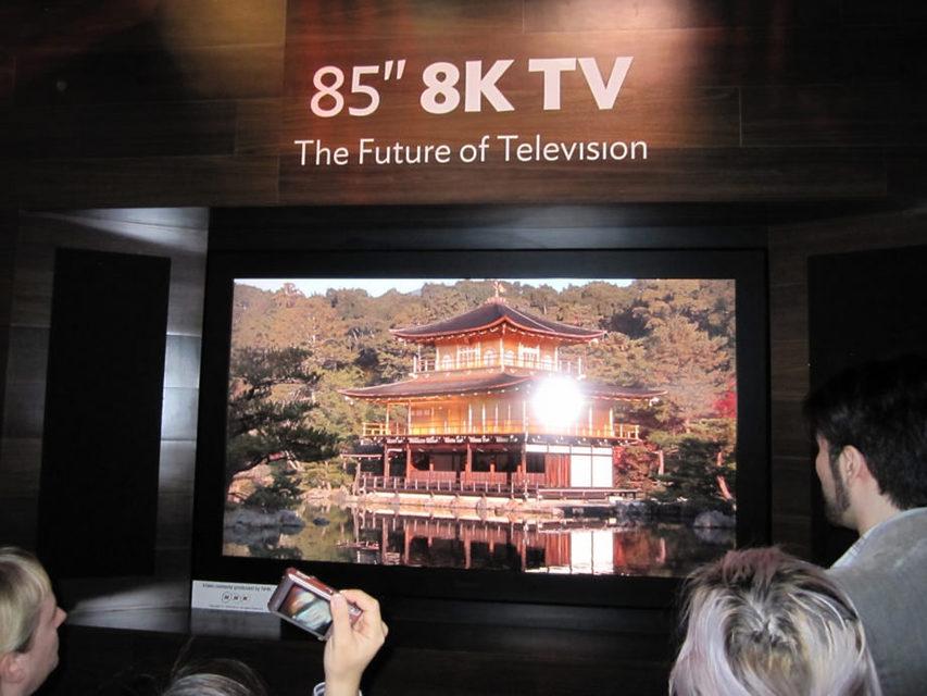 Сони иPanasonic готовят 8K-ТВ кОлимпиаде 2020