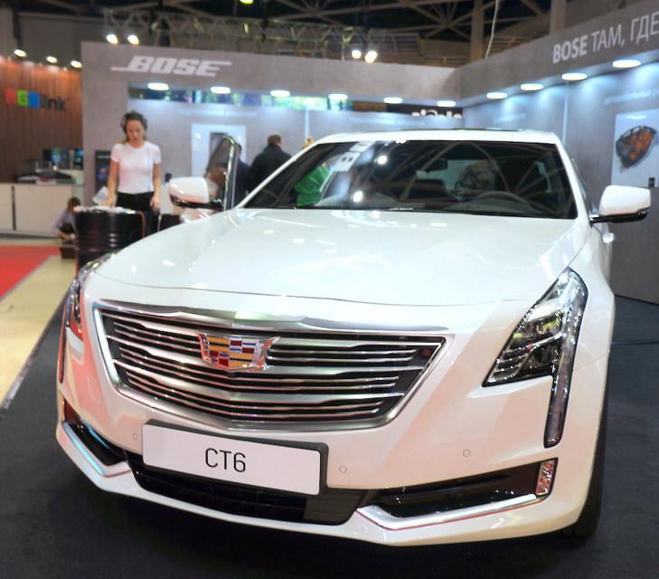 ISR 2017: Cadillac CT6 с аудиосистемой Bose Panaray ...