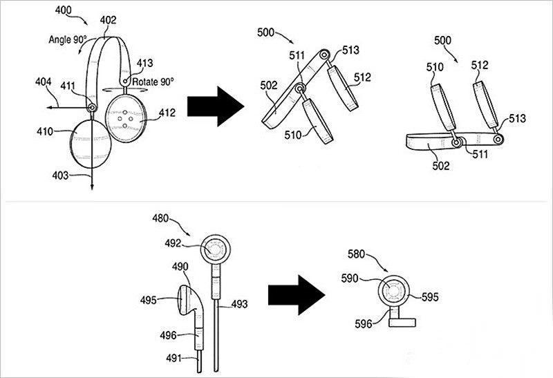 Apple подала патент нанаушники-колонки