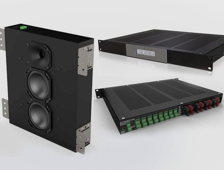 Pro Audio Technology представила инсталляционный балансный усилитель DMA-1508B и встраиваемую АС SCRS-25im