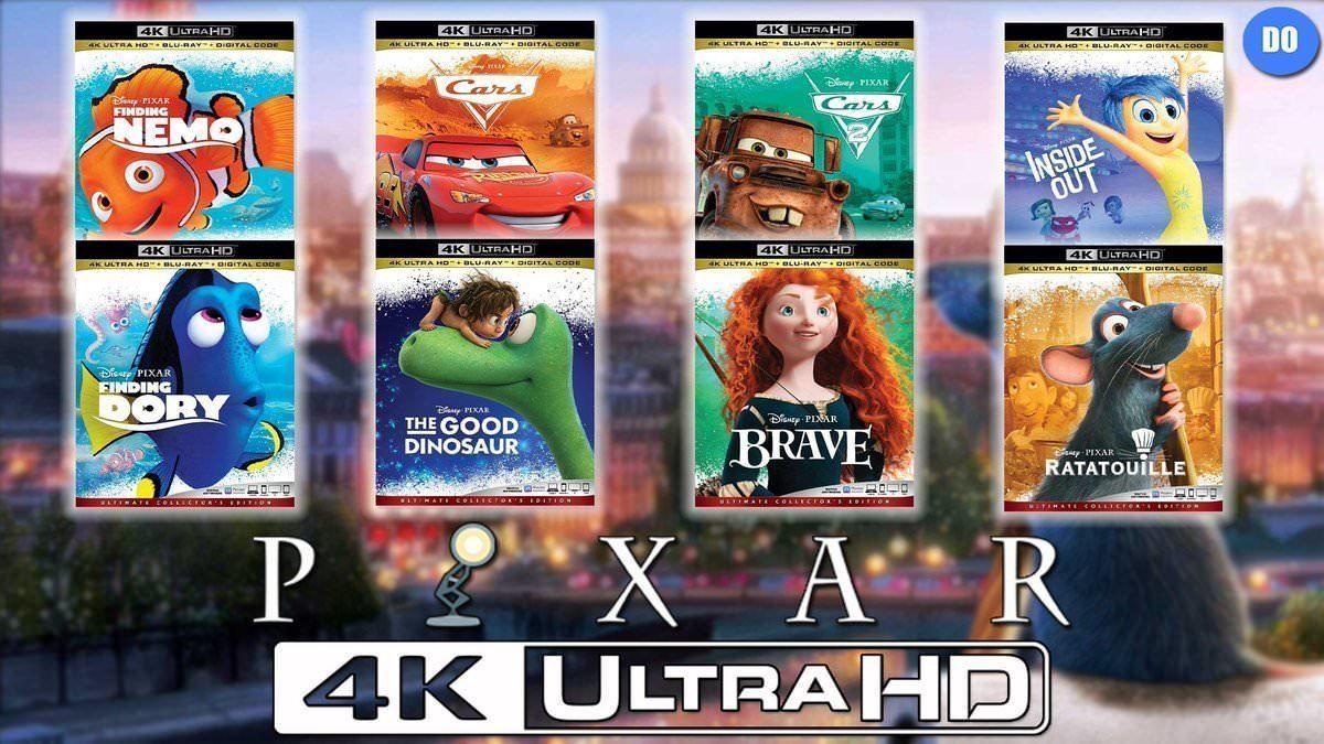 популярные фильмы Disney и мультфильмы Pixar появятся в 4к