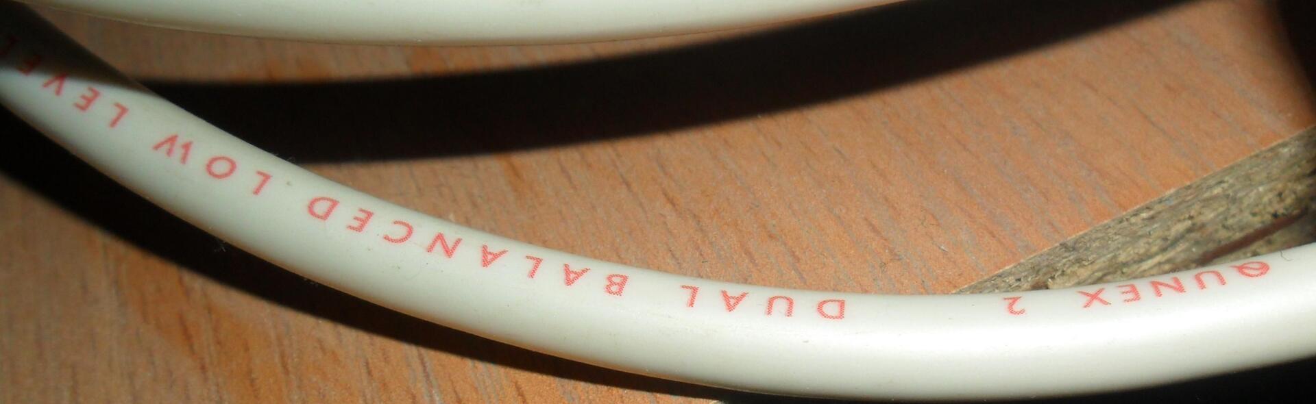 Межблочный кабель QED qunex 2 - 0,5м