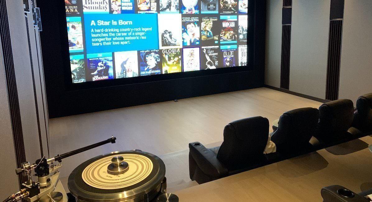 Домашние проекты: частный кинотеатр-студия для большого любителя Atmos-звука