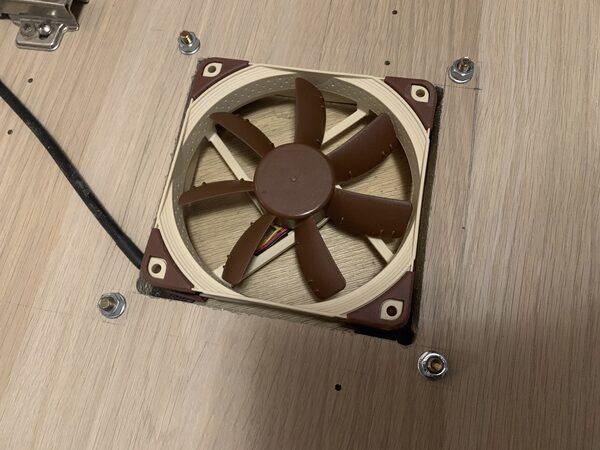 Как охладить технику в закрытой тумбе (часть 3)