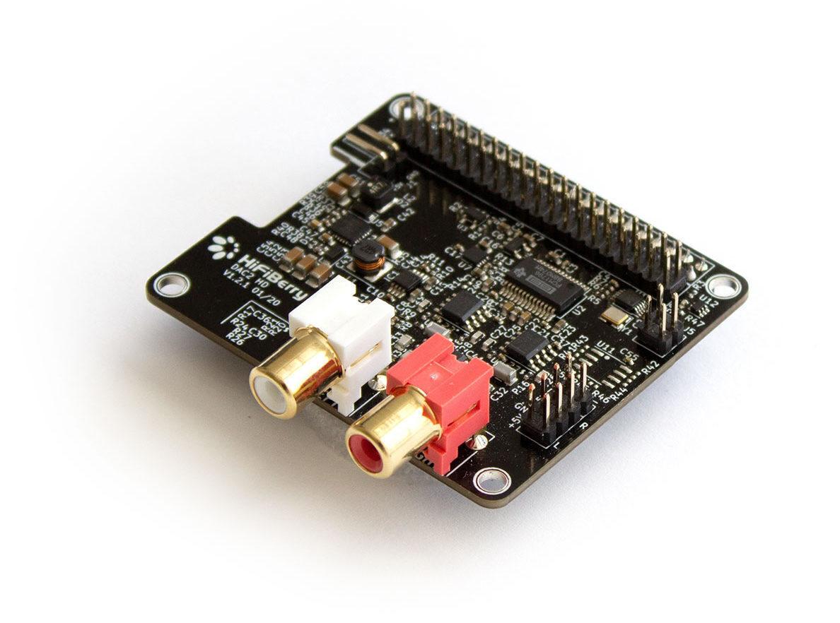 Что нам стоит стример построить: комбинация Raspberry и HiFiBerry DAC2 HD