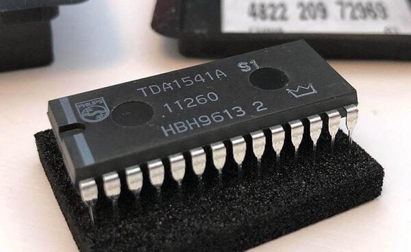 Изучаем самый популярный мультибитный ЦАП Philips TDA1541