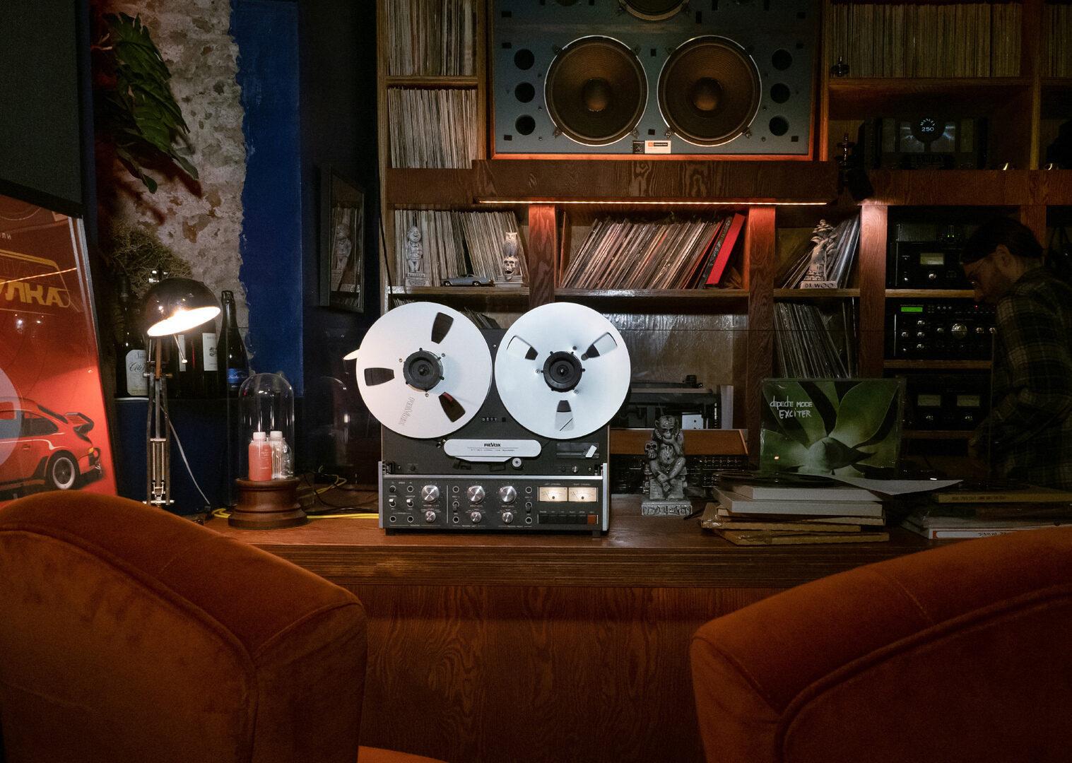 """Сессия Аудио Клуба """"Фонотека"""": Revox и хорошие новости"""