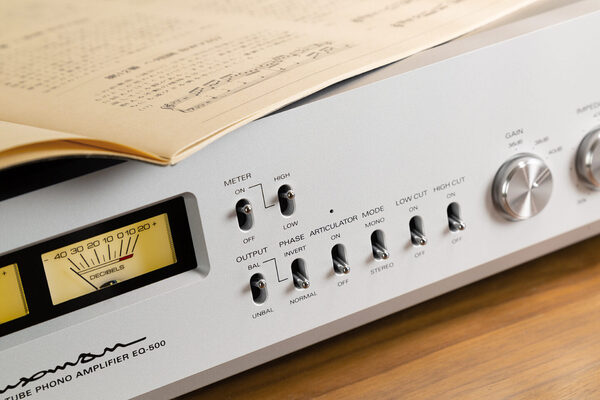 Тест фонокорректора Luxman EQ-500: неламповая лампа