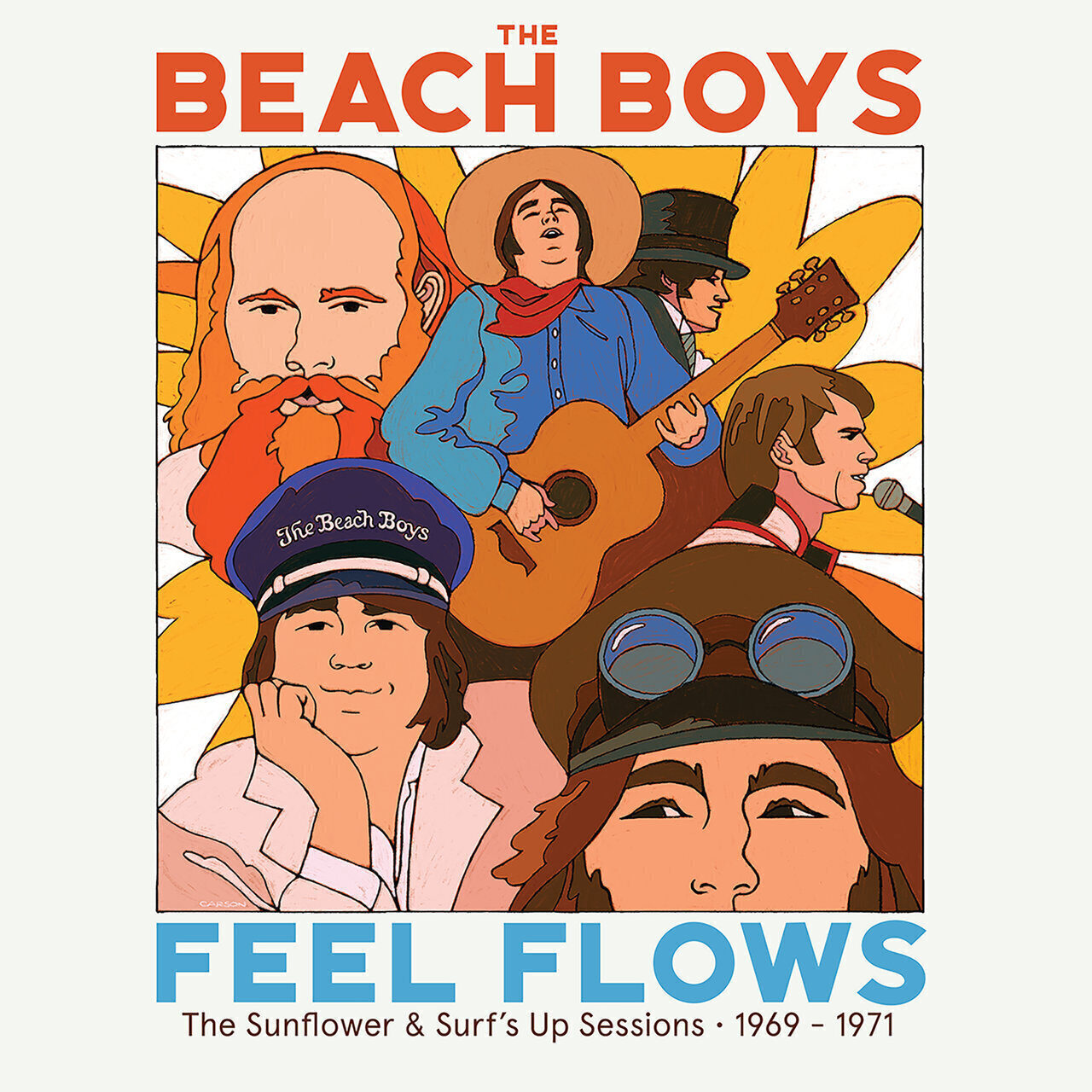 The Beach Boys «Feel Flows: The Sunflower & Surf's Up Sessions 1969–1971»