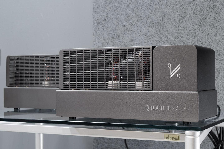 Тест предусилителя Quad QC 24 и моноблоков Quad II Forty: всё по-старому