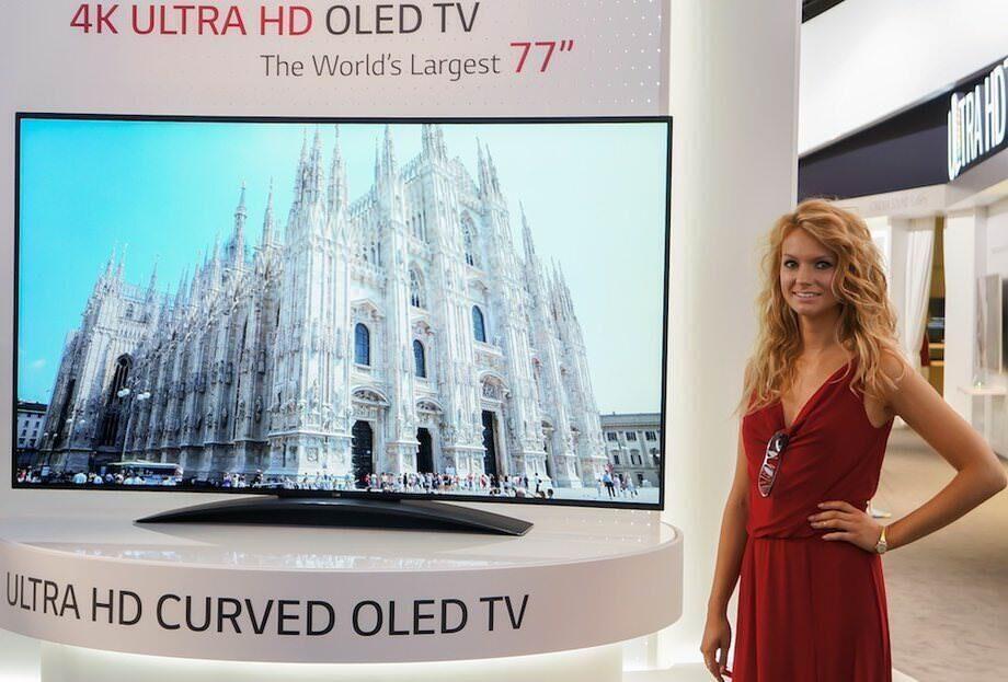 Как дорожали и гнулись телевизоры на IFA 2013