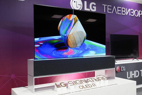 Тест телевизора LG Signature OLED R: сворачивающийся
