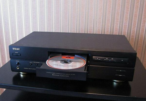 Родом из 90-х, или Как я полюбил бюджетный CD-плеер TEAC CD-P4500