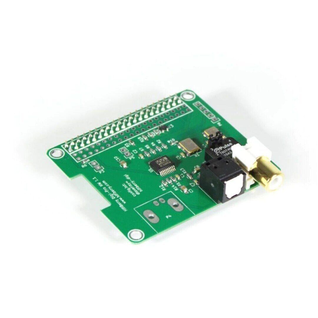 Что нам стоит стример построить: комбинация Raspberry Pi3 B+ и HiFiBerry Digi+ Pro
