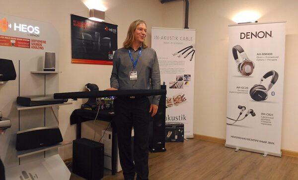 Весенняя конференция «Бонанза»: новые ресиверы Denon, «розовое золото» Focal и HDMI по оптике от InAkustik