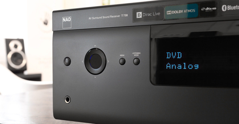 Тест AV-ресивера NAD T 758 V3: серый кардинал