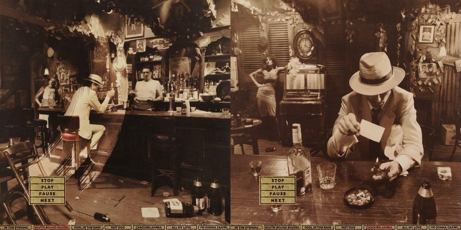 Аудиоплеер для альбома Led Zeppelin «In Through the Out Door»