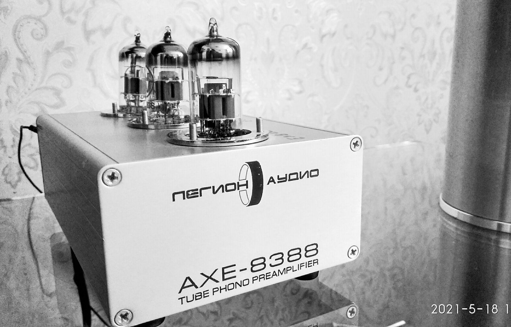Сравнение встроенного фонокорректора усилителя Marantz PM8005 и внешнего AXE-8388
