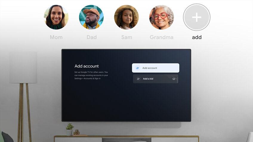 Платформа Google TV обзавелась функцией индивидуальных профилей с персонализированными рекомендациями
