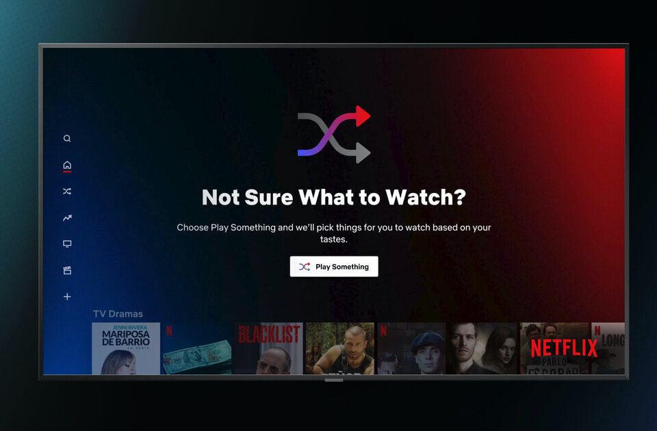 Netflix предложит функцию «Play Something» владельцам Android