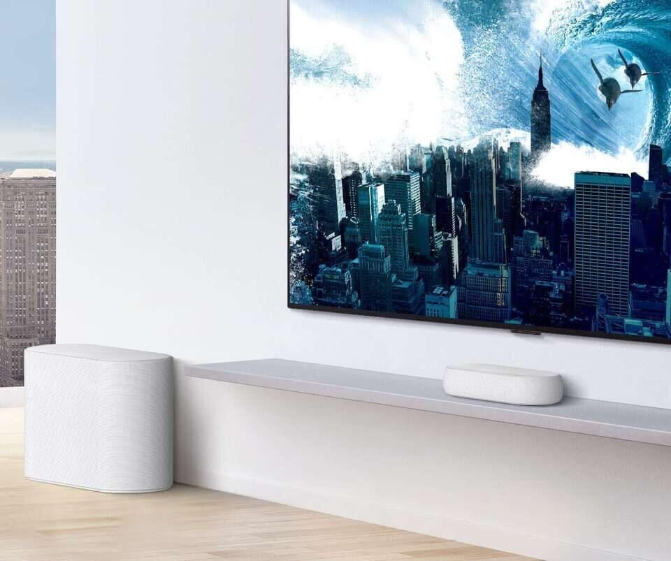 Звуковая панель LG Eclair: 320 Вт в конфигурации 3.1.2 шириной 30 см