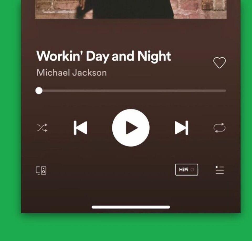Spotify HiFi появился в приложении для iOS (пока что только значок)