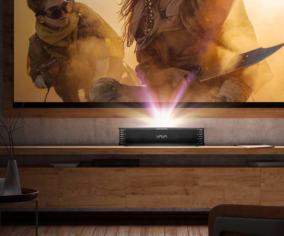 VAVA запустила сбор денег на короткофокусный проектор с трехлазерной системой и Android TV