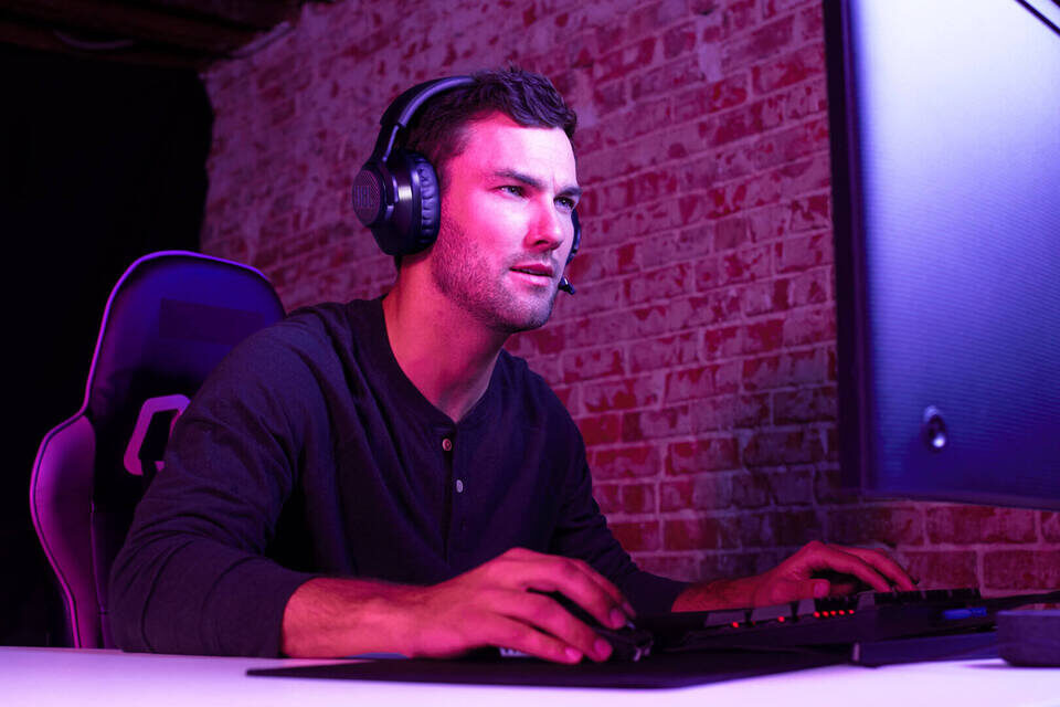 Игровая гарнитура JBL Quantum 350: фирменное объемное звучание и сертификация Discord