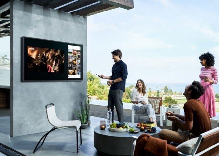 Samsung начала продажи телевизоров The Terrace в России
