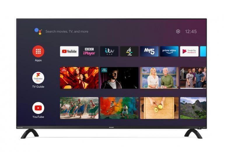 Sharp выпустила безрамочные 4К-телевизоры