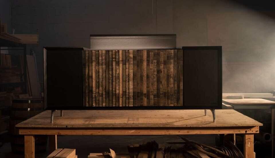 Wrensilva и Jack Daniel's модифицировали Hi-Fi-консоль M1 для любителей виски и хорошей музыки