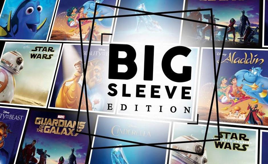 Disney Big Sleeve Edition: популярные диснеевские фильмы на Blu-ray-дисках, но в обложках для пластинок