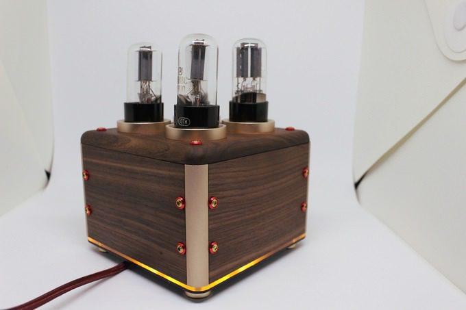 MiaMusica: беспроводной усилитель на лампах