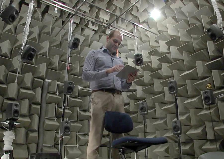 Датский университет построил лабораторию, эмулирующую акустику любого помещения