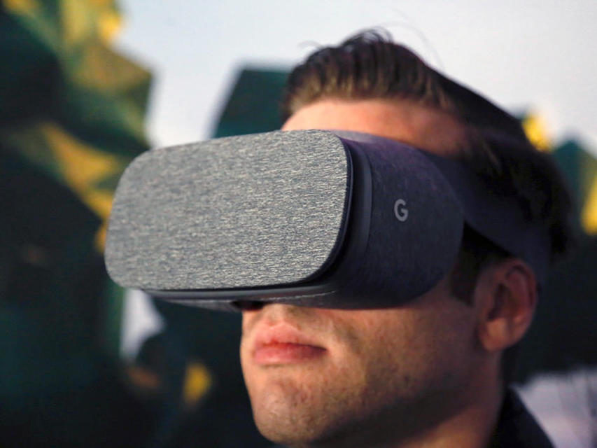 VR-гарнитура от Google отследит положение глаз