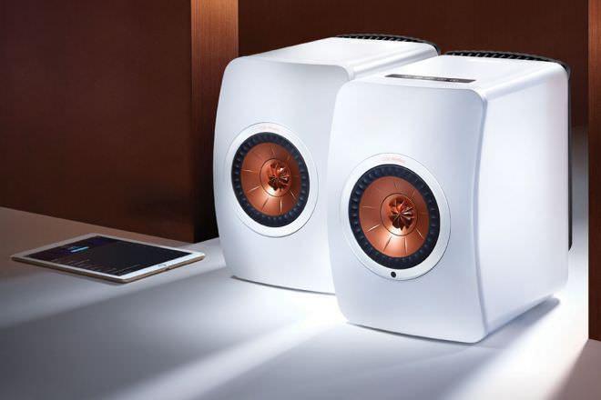 Полочная акустика KEF LS50 Wireless: активная и беспроводная версия юбилейных LS50