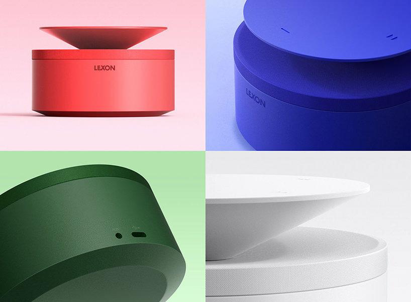 Blossom 360: концепт портативной беспроводной акустики с кнопкой-рассеивателем