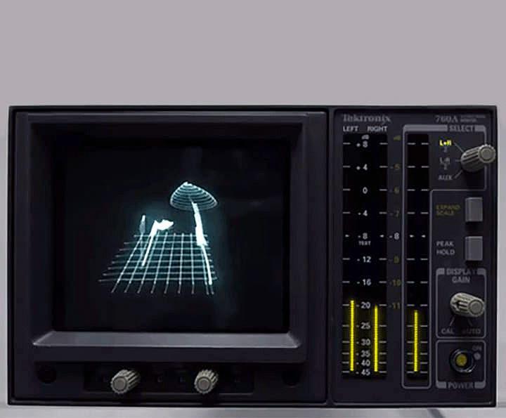 Видеоблогер Techmoan выпустил подборку музыки с визуализацией на экране осциллографа
