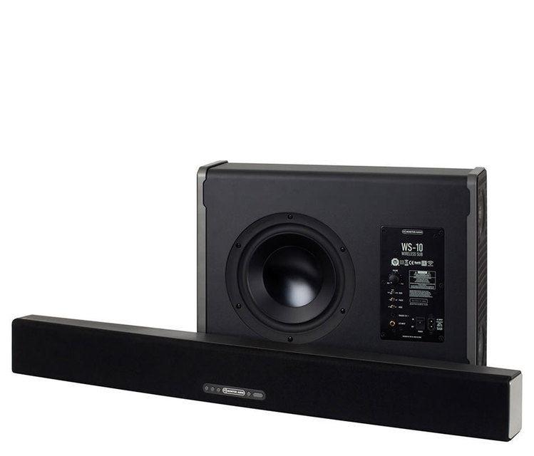 Monitor Audio представила саундбар ABS-10 и беспроводной сабвуфер WS-10